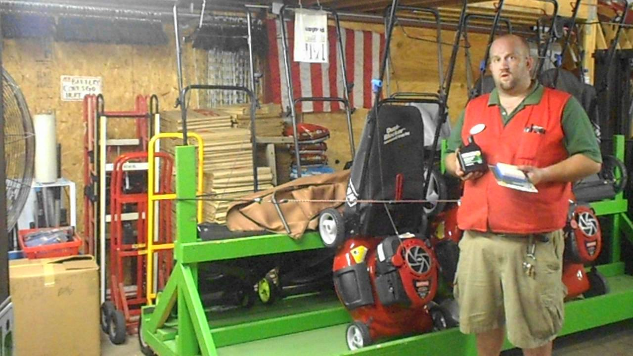 Village ACE Hardware Preparing Your Push Mower For Winter Storage PK Video