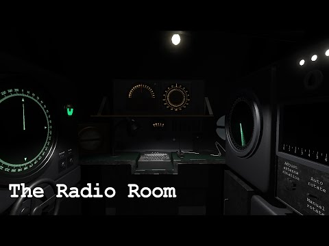 The Radio Room - HMS Marulken