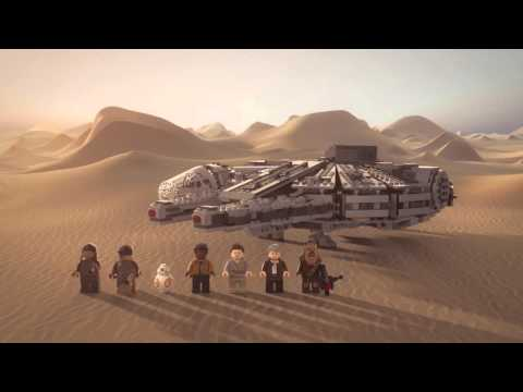 Millennium Falcon - LEGO Star Wars - 75105  - Product Animation