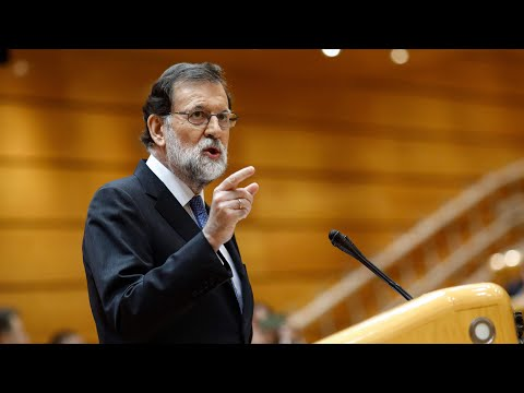 Mariano Rajoy requests powers to dismiss Catalan government