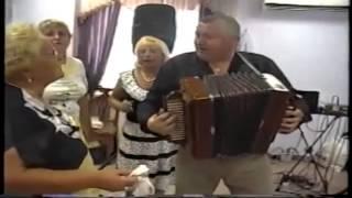 Гармонист Виктор  Харин на Замартыновской свадьбе