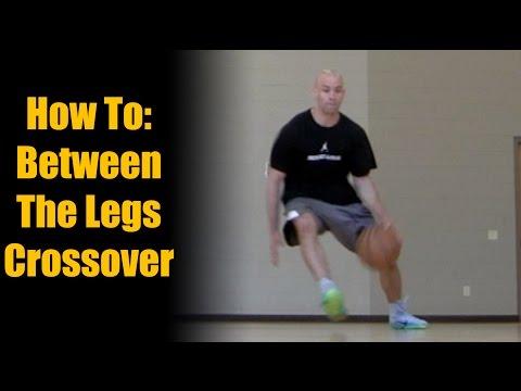 Poignées de basketball - Mouvements de basketball: Comment faire un dribble croisé entre les jambes