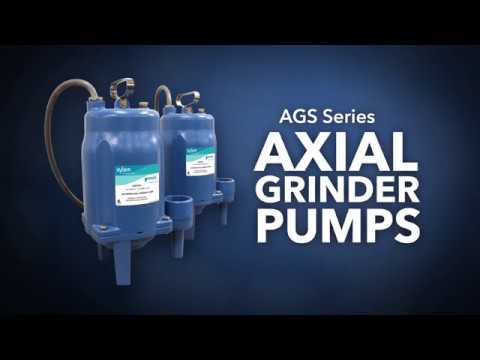 AGS Series Axial Grinder Pumps