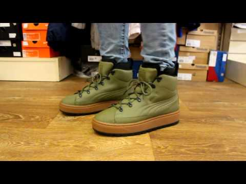 cd1ad61cedd Review | Puma The Ren Boot Olive - YouTube