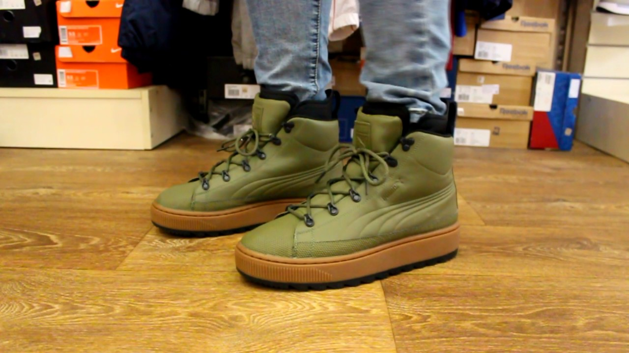 27ea6cad3ee Review | Puma The Ren Boot Olive by SNEAKER BAR
