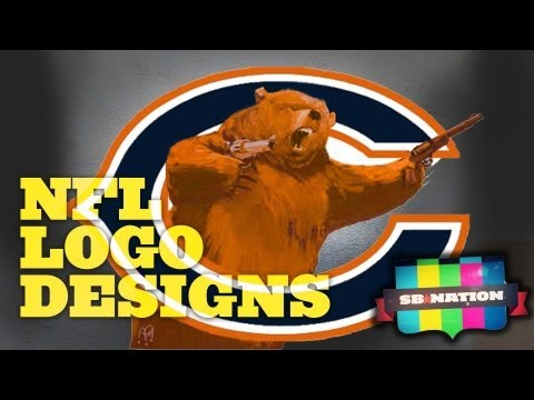 Evolution of NFL Logo Designs