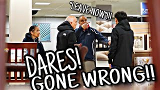 DOING DARES AT WOODFIELD MALL!! (GONE WRONG)!!! + LITT VLOG!!