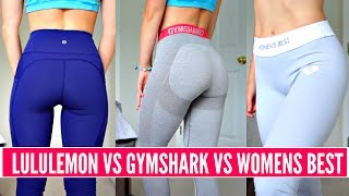 LEGGINGS REVIEW & TRY ON: lululemon vs Gymshark vs Women's Best