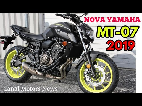 nova yamaha mt 07 2019 lan ada no jap o youtube. Black Bedroom Furniture Sets. Home Design Ideas