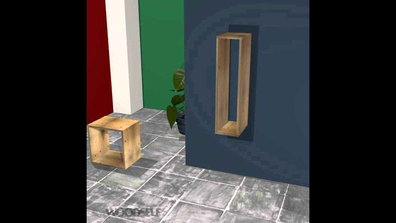 Woodself How To Build A Tetris Shelf