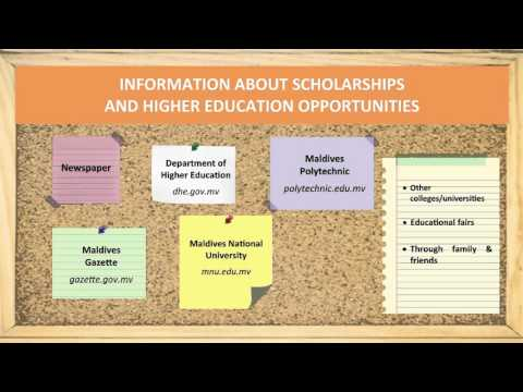 Scholarships and higher education