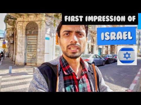 First Impression Of ISRAEL 🇮🇱!! TEL AVIV CITY - Beaches , Market