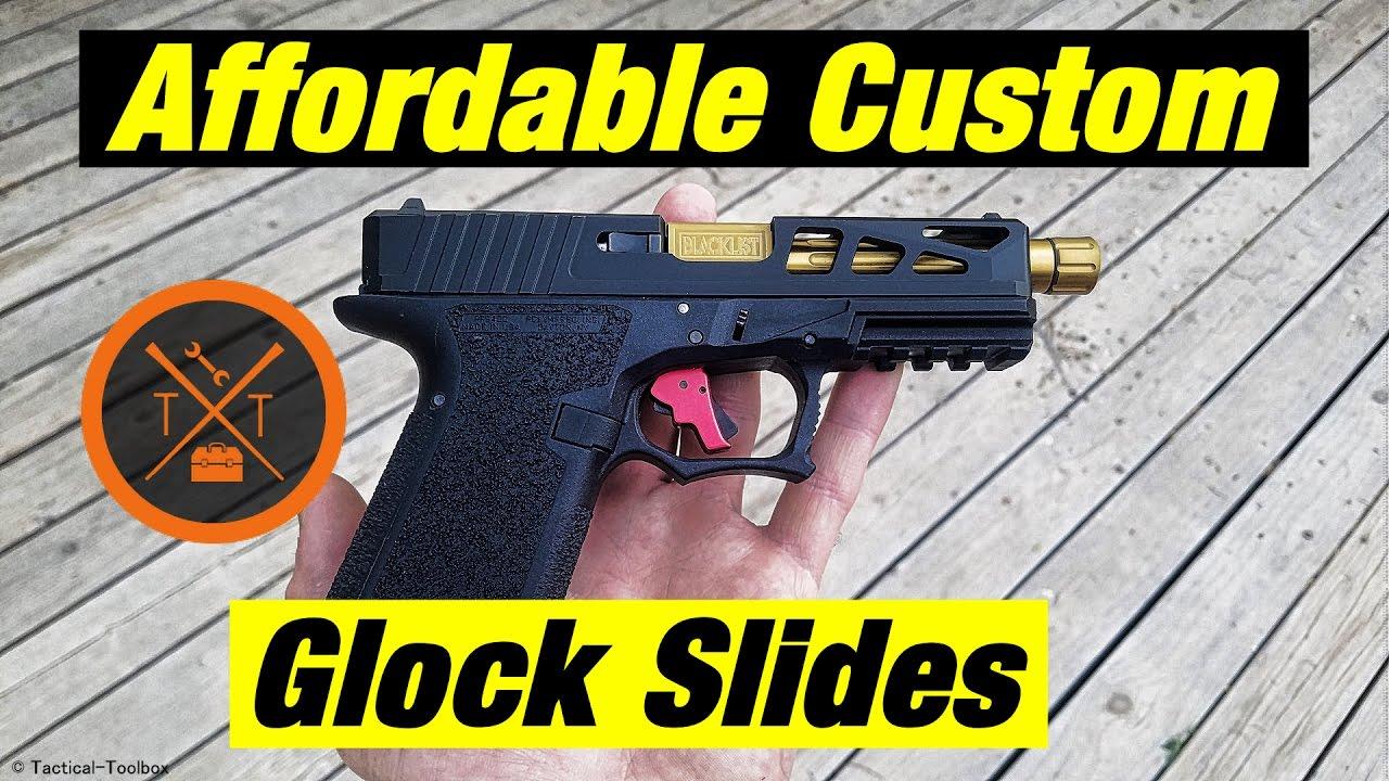 💥Affordable Custom Glock Slides From Norsso!⚡ #PewTuber