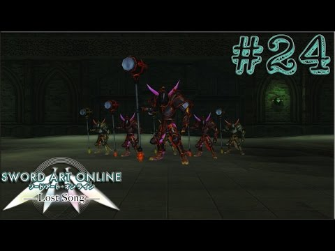 Sword Art Online Lost Song [PS4] Part 24 - Ruins of Norna-Gest / Boss: Doppelganger
