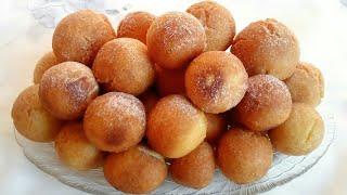 Пончики на Сгущенке Փքաբլիթներ խտացրած կաթով