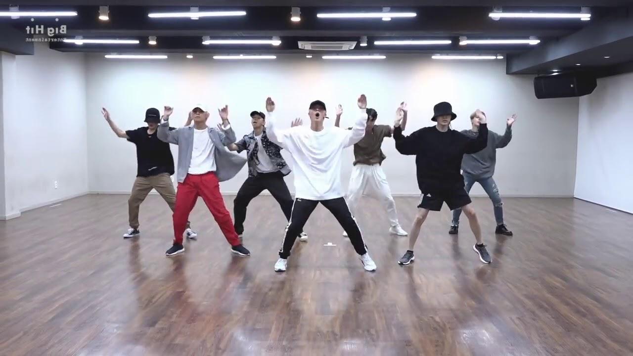 Bts Hd Wallpaper Desktop Mirrored Amp 50 Slowed Bts Idol Dance Practice Youtube