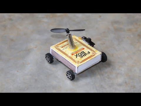 How To Make Match Box Helicopter Car At Home - Toy Matchbox Car