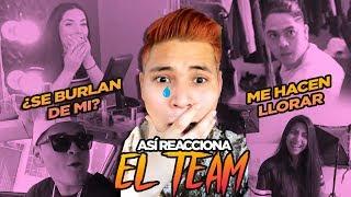 EL TEAM REACCIONA A MI NUEVO LOOK 😱🔥/elsupertrucha