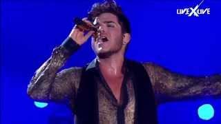I Want to Break Free & Somebody to Love HD Queen Adam Lambert Rock in Rio edit