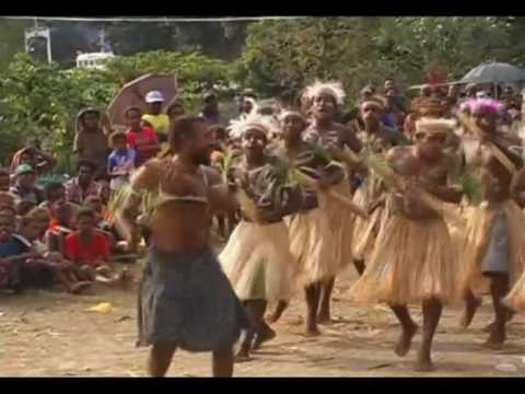 Funny Dance from Solomon Islands
