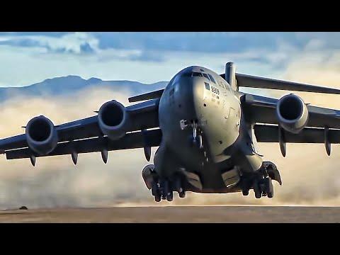 Jumbo U S  Military Transport Plane • C-17 Globemaster III