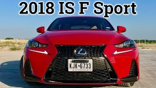 2018 Lexus IS 300 F Sport | Luxury and Fun!