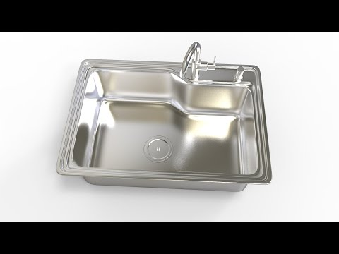 MAX Modeling Tutorial l Kitchen Sink
