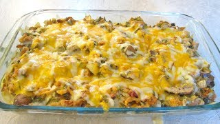 Green Bean Casserole - Mushrooms, Bacon, Onions and Cheese - PoorMansGourmet