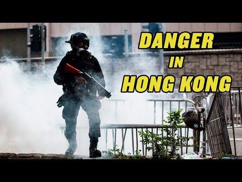 Very Violent Hong Kong Protests  China Uncensored