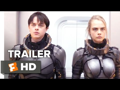 Valerian And The City Of A Thousand Planets Movie Hd Trailer