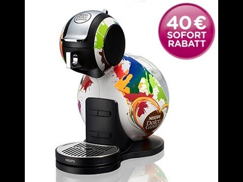 nescafe dolce gusto maschine alles ber dolce gusto maschine youtube. Black Bedroom Furniture Sets. Home Design Ideas