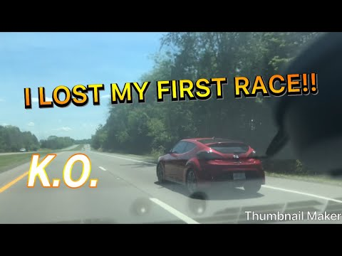 HYUNDAI VELOSTER TURBO IS FAST WE RACED **MUST SEE**