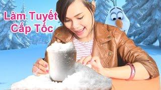 ❄Bộ Đồ Chơi Làm Tuyết Cấp Tốc (Bí Đỏ) 🌞Đồ Chơi Tuyết Nhân Tạo⛄ Grow Snow Kid Toys