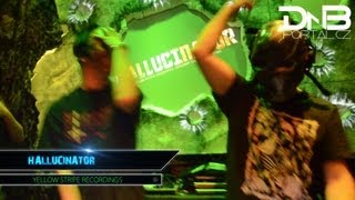 Download Hallucinator - FSRECS Label Night [DnBportal.com] MP3 song and Music Video