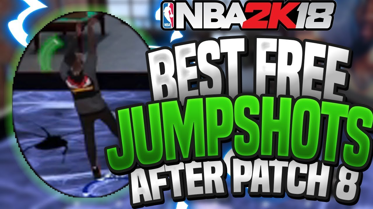 BEST FREE JUMPSHOTS IN 2K18 AFTER PATCH 8!! ANY ARCHETYPE!!