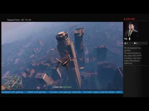 Gta 5 Online Livestream #10 My friend is high as fuck