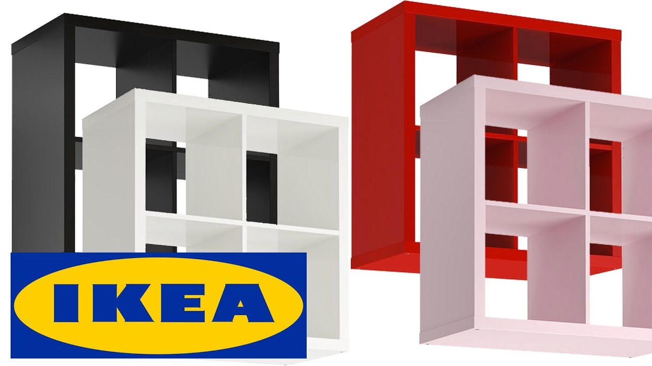 ikea kallax shelving unit shelf closet regal white unboxing youtube