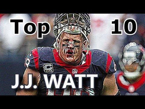 J.J. Watt Top 10 Plays of Career