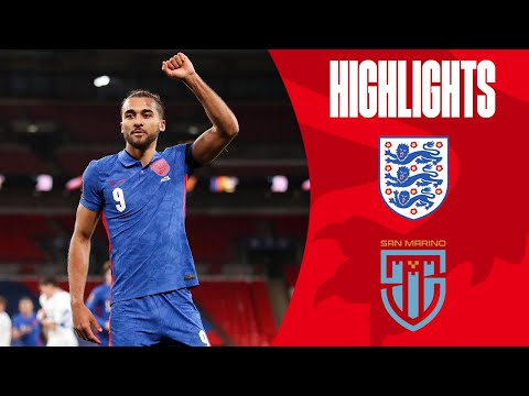 England 5-0 San Marino   Watkins Debut Goal & DCL Double   World Cup 2022 Qualifiers   Highlights