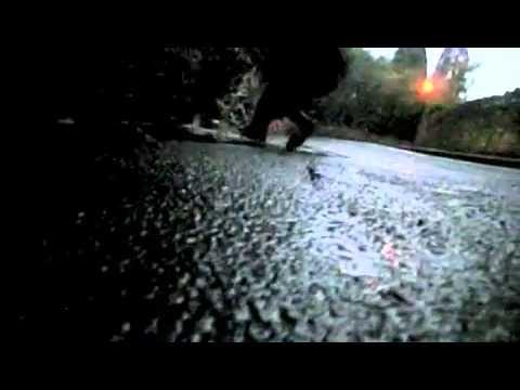 Joel's Powerslide Fail (Super Slow Motion)
