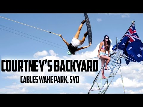 Courtney Angus X Cables Wake Park