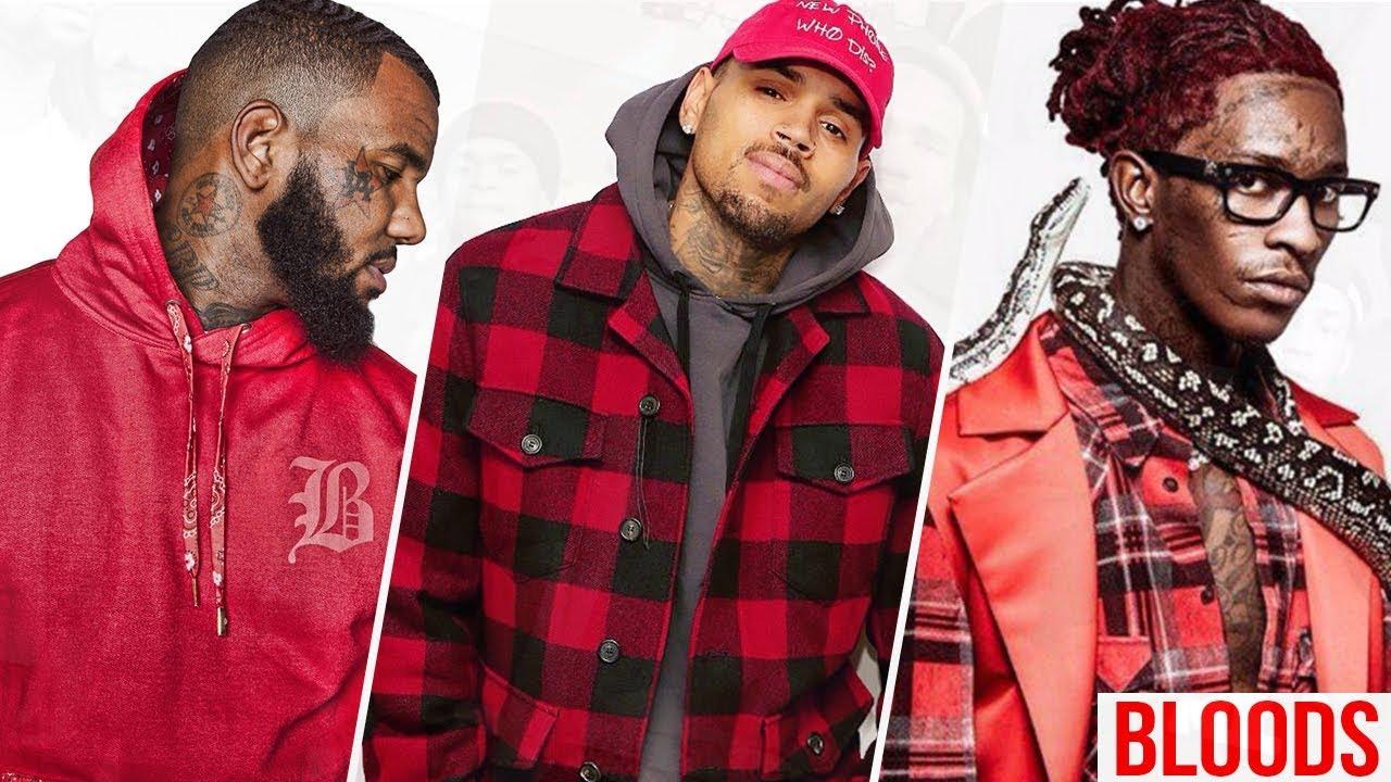 Listas De Alguns Rappers Bloods E Cripz E Mais Alguns Fatos