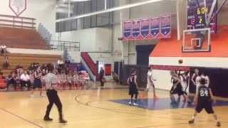 Michael Anderson drops 22 points and 2 dunks on thunderbird hs az