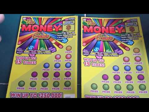"""""""THE MONEY GAME""""!!! - IL. LOTTERY SCRATCH-OFF WINNER!!!"""