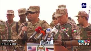 اختتام فعاليات تمرين الأسد المتأهب 2018 المشترك بين القوات المسلحة ونظيرتها الأمريكية - (26-4-2018)