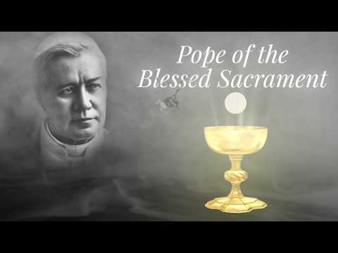 Saint of the Day — Pius X— August 21