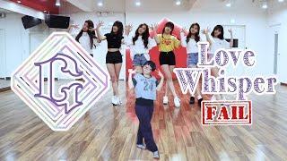 Video 【KY】GFRIEND(여자친구) — Love Whisper(귀를 기울이면) DANCE COVER(Fail/Parody? Ver.) download MP3, 3GP, MP4, WEBM, AVI, FLV September 2017