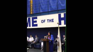 Frost Junior High Graduation Speech 2013