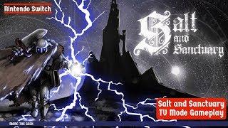 Nintendo Switch: Salt & Sanctuary TV Mode Gameplay