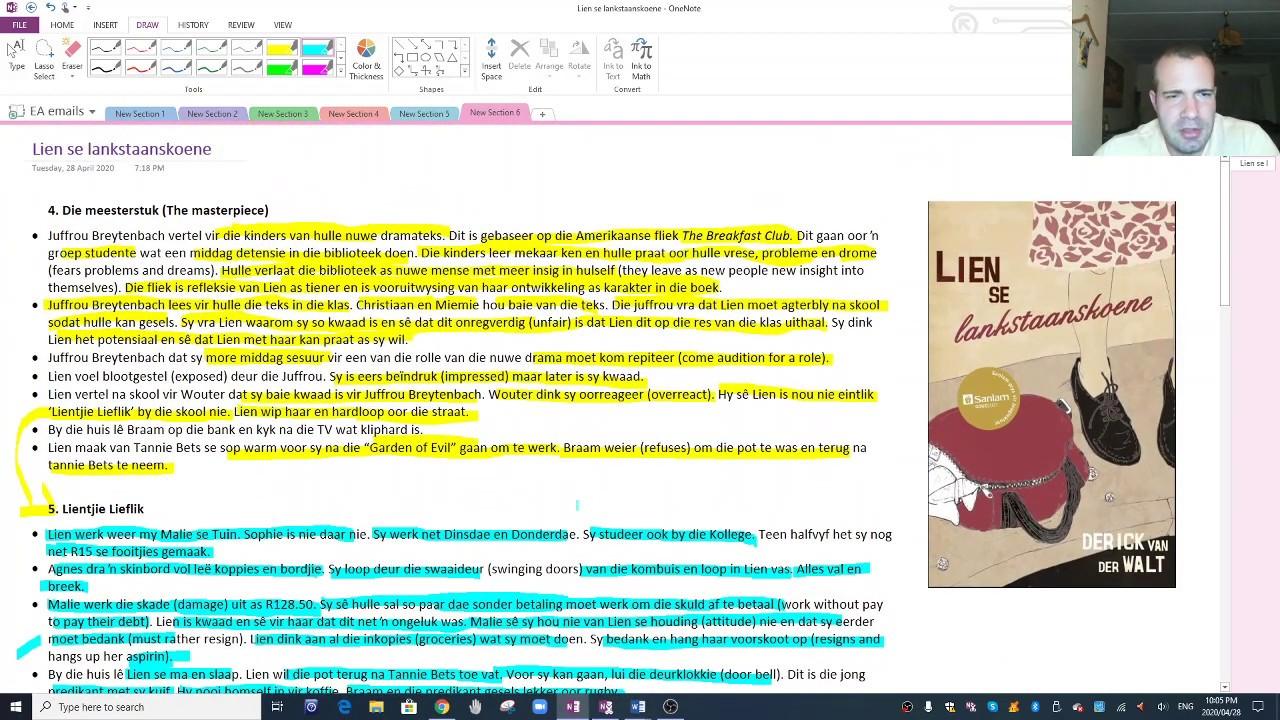 Download Lien se lankstaanskoene Summary 2
